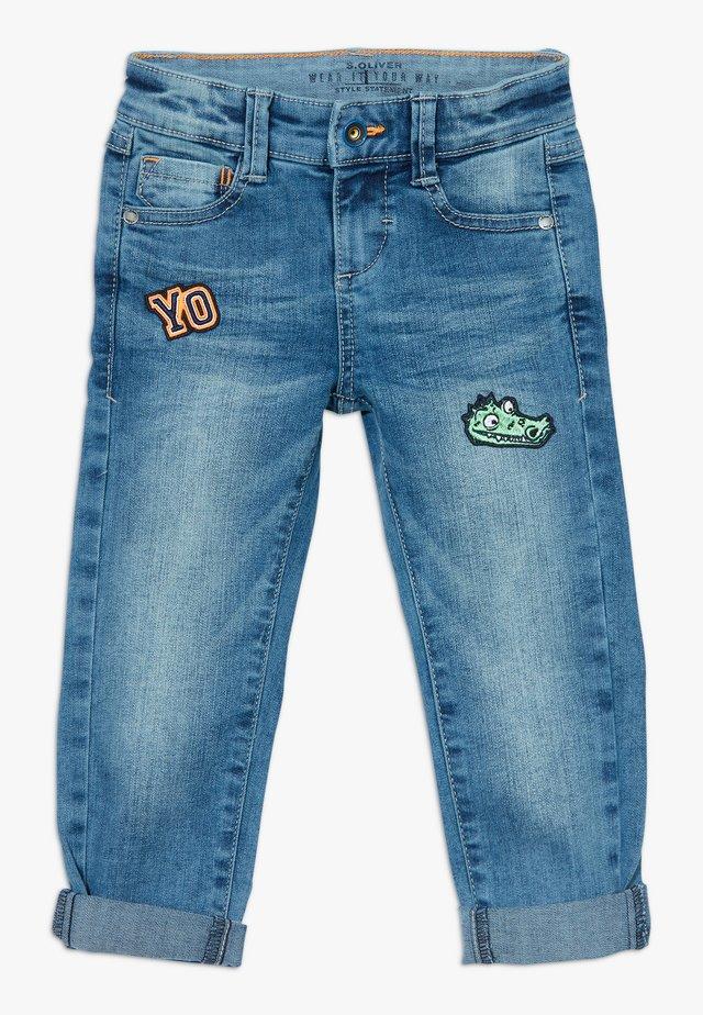 HOSE LANG - Slim fit jeans - blue denim