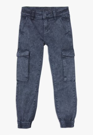 Cargo trousers - dark blue