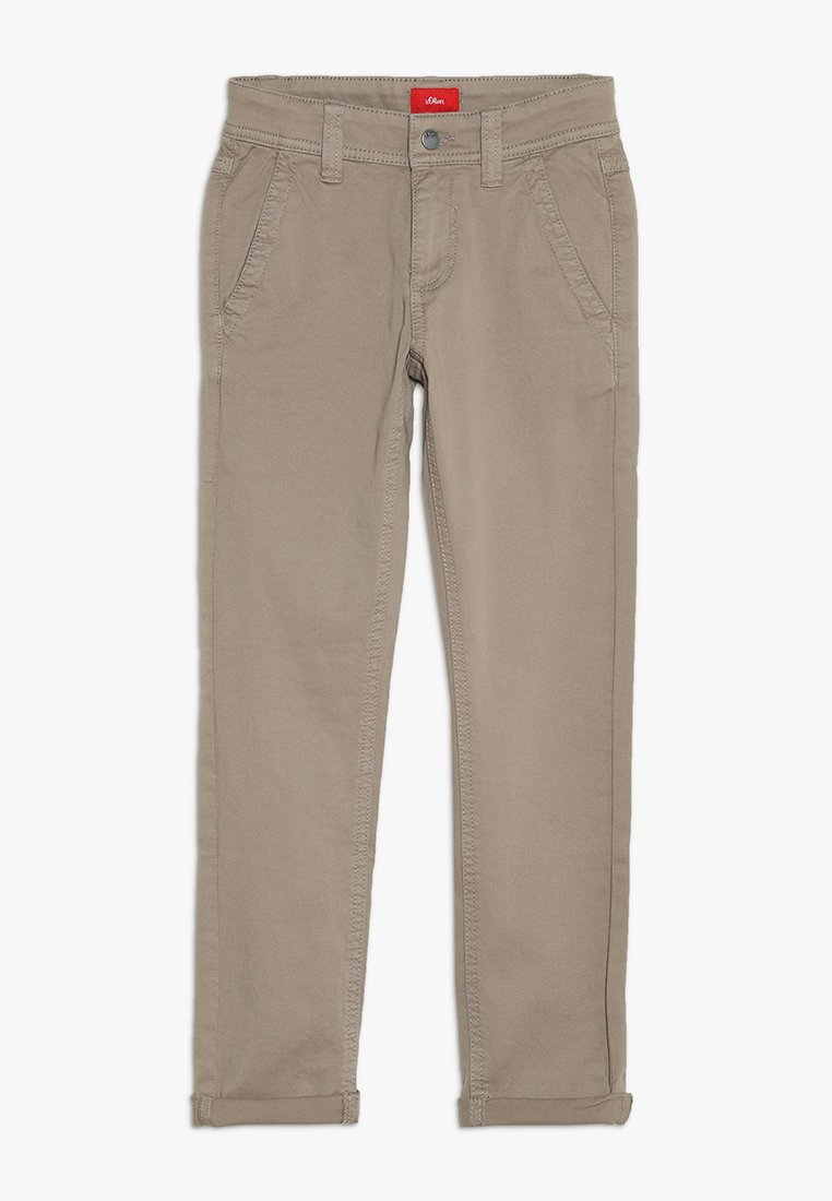 s.Oliver - Trousers - light brown