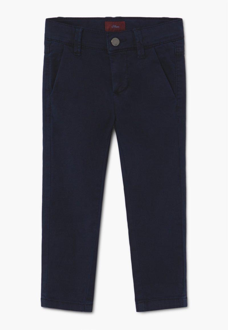 s.Oliver - Chino kalhoty - dark blue