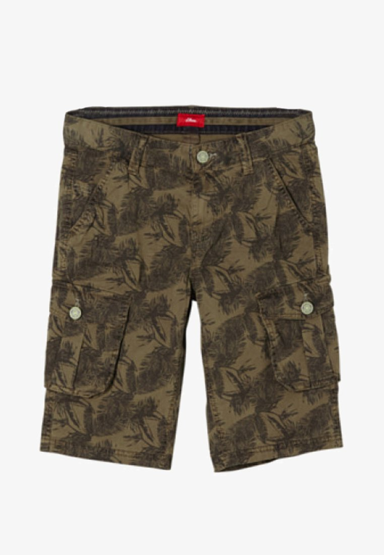 s.Oliver - Shorts - dark green