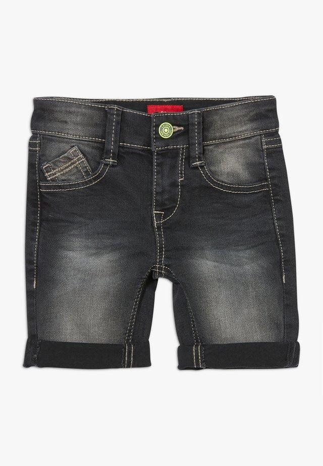KURZ - Jeansshort - grey denim