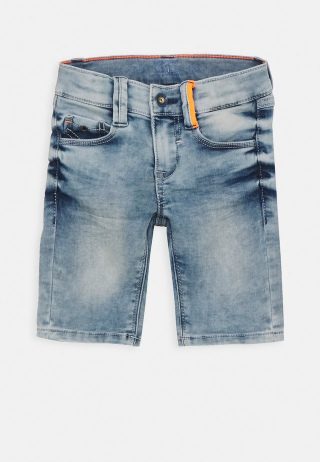 HOSE KURZ - Jeansshort - blue denim