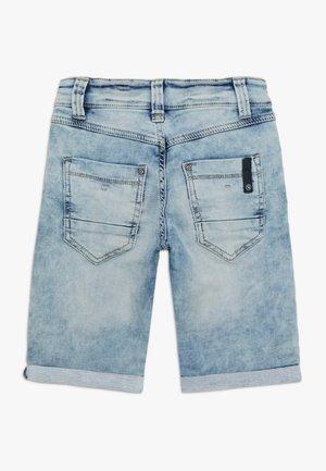 BERMUDA - Jeans Shorts - blue denim