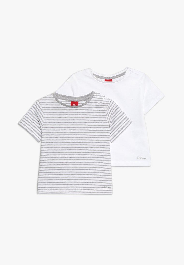 s.Oliver - 2 PACK - T-Shirt print - multi-coloured