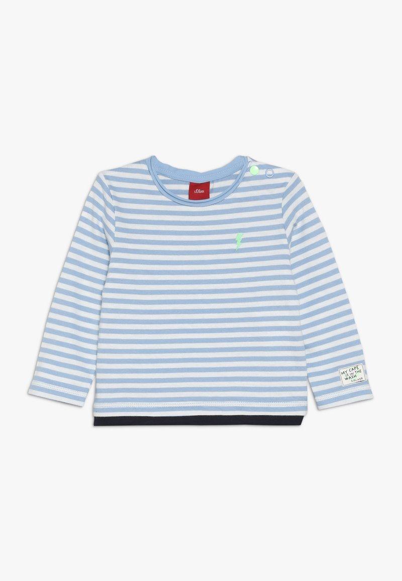 s.Oliver - Long sleeved top - blue