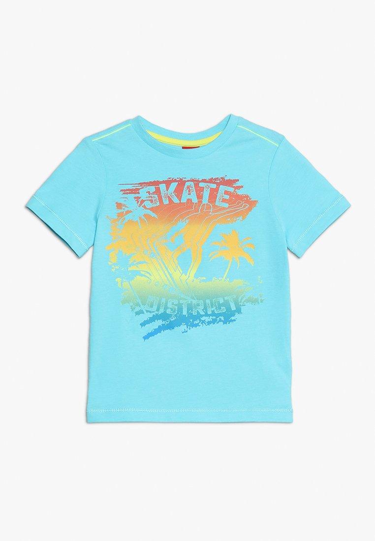 s.Oliver - T-shirt med print - turquoise