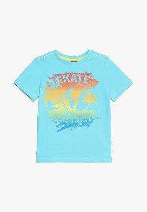 T-shirt print - turquoise