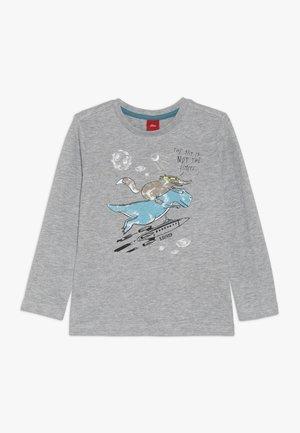 Långärmad tröja - grey melange