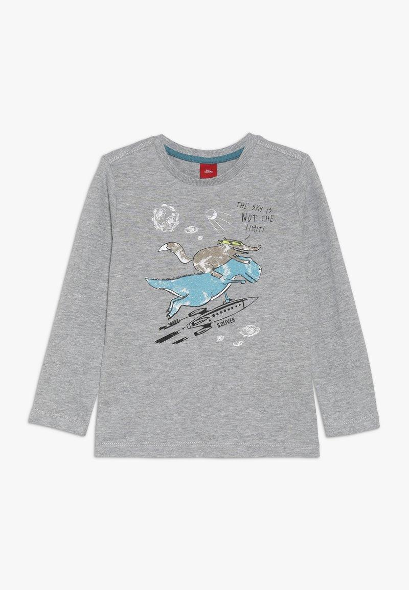 s.Oliver - Langærmede T-shirts - grey melange