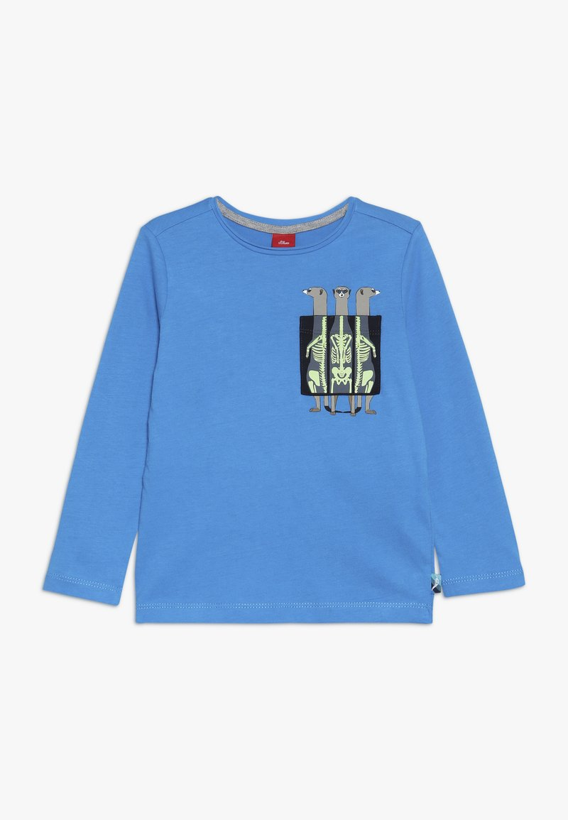 s.Oliver - Long sleeved top - turquoise
