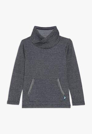 T-shirt à manches longues - dark blue melange