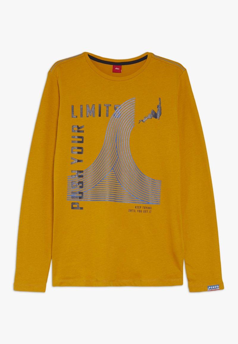 s.Oliver - Langarmshirt - dark yellow