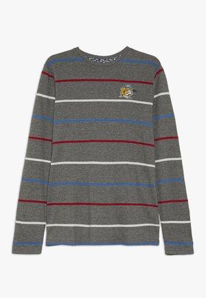 Langærmede T-shirts - grey/black