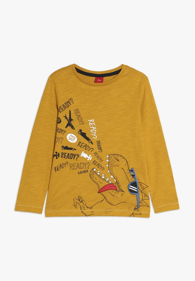 Langarmshirt - golden yellow