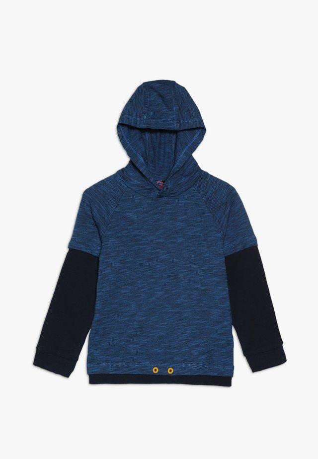 Hoodie - medium blue