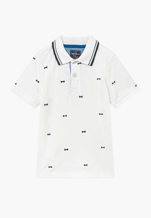 KURZARM - Poloshirt - white