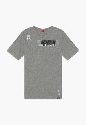 KURZARM - T-shirt imprimé - grey