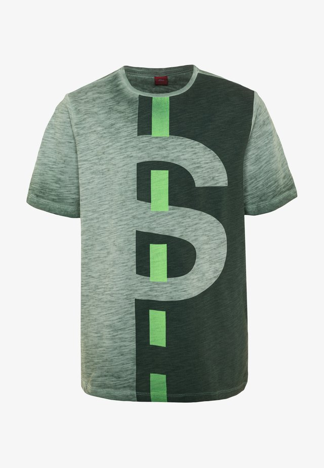KURZARM - T-shirt print - jade green