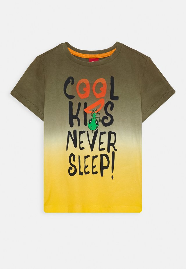 KURZARM - T-shirt print - green