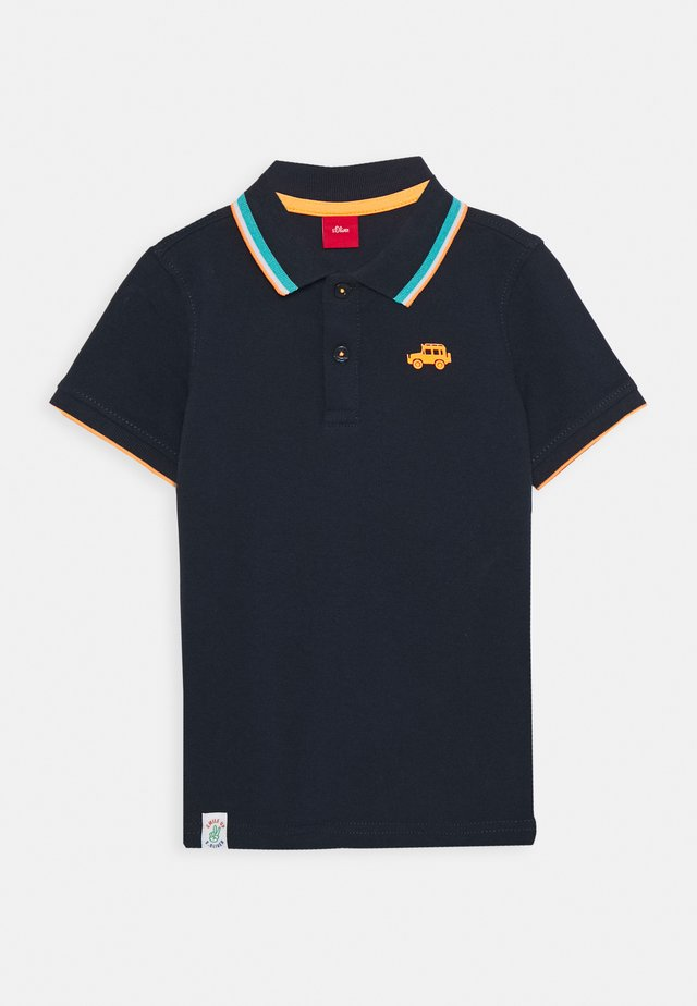 KURZARM - Poloshirt - dark blue