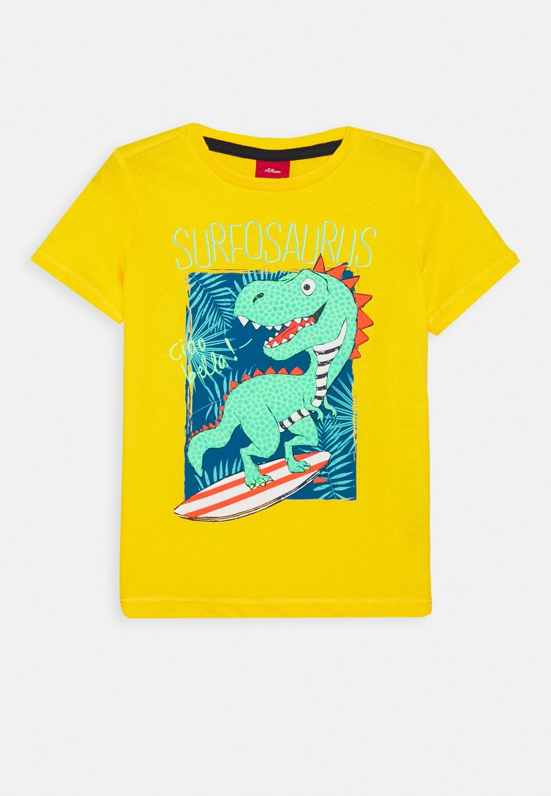 s.Oliver - T-shirt print - yellow