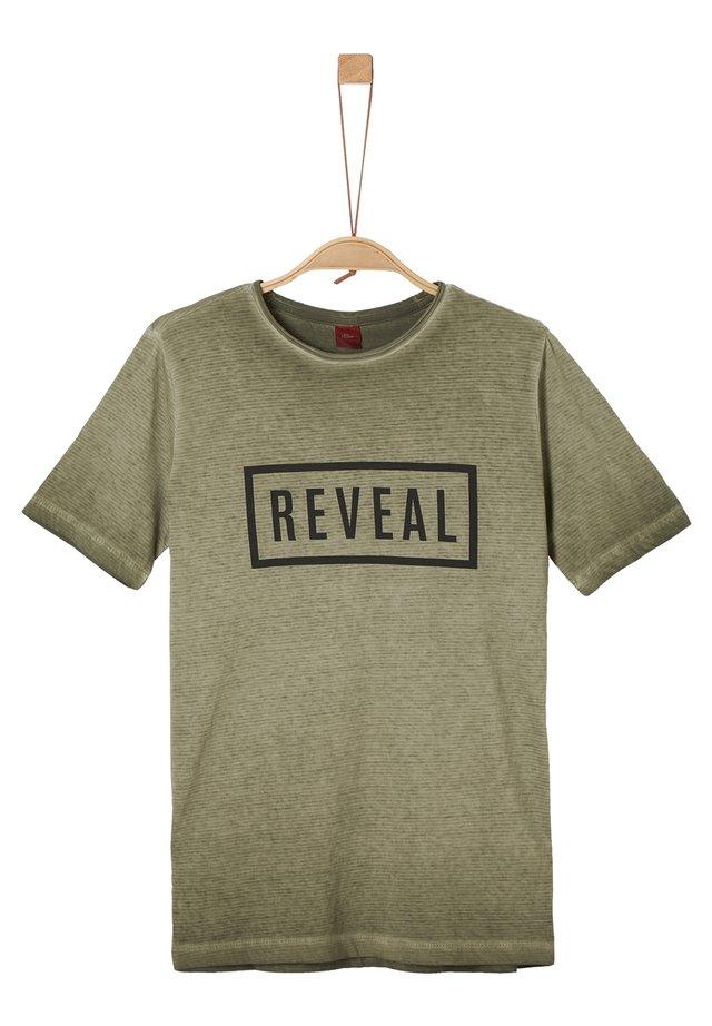 PIGMENT DYE - T-Shirt print - khaki