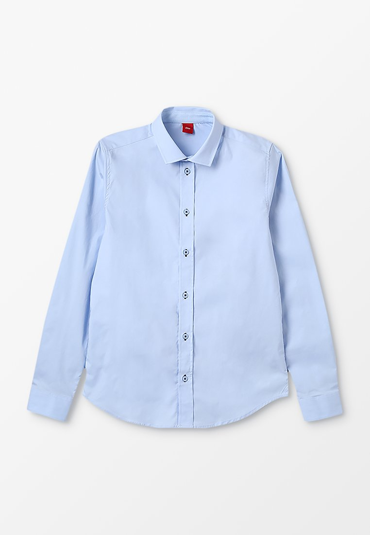 s.Oliver - LANGARM SLIM FIT - Shirt - light blue