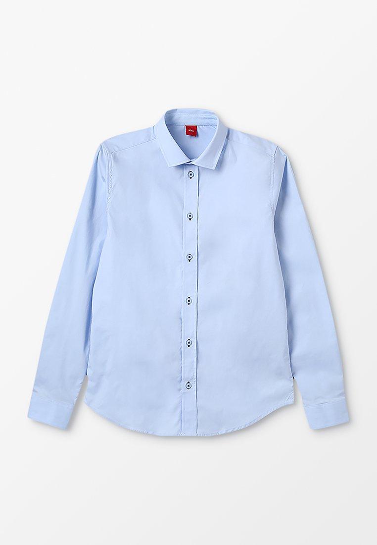 s.Oliver - LANGARM SLIM FIT - Skjorter - light blue