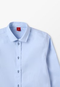 s.Oliver - LANGARM SLIM FIT - Shirt - light blue - 4