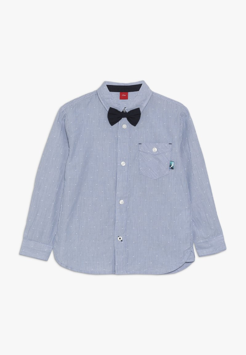 s.Oliver - LANGARM - Shirt - blue