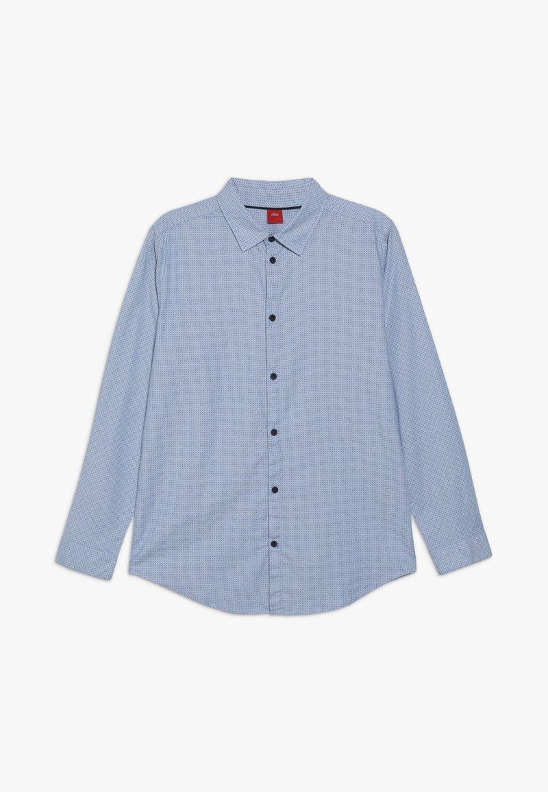 s.Oliver - LANGARM - Košile - blue
