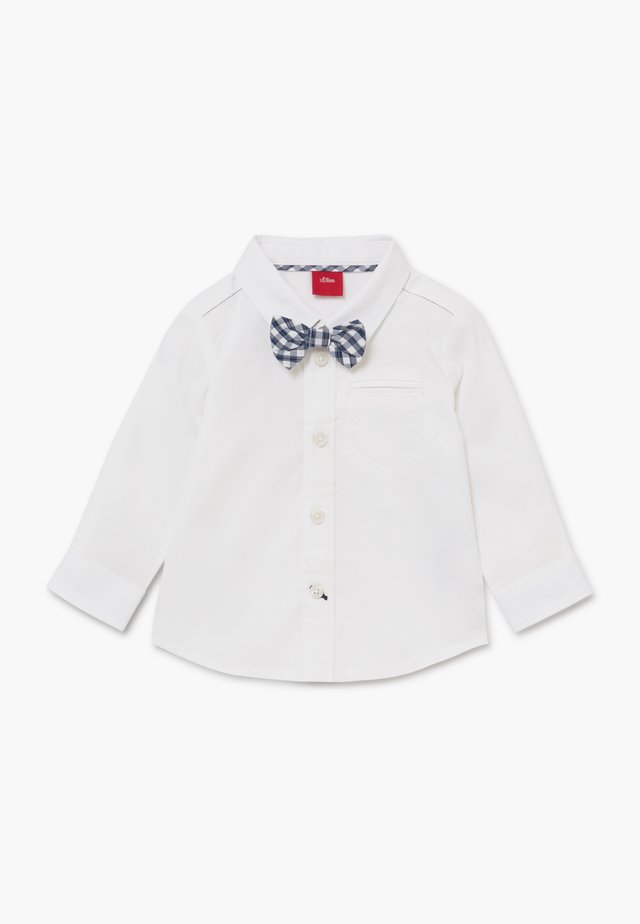 LANGARM - Hemd - white