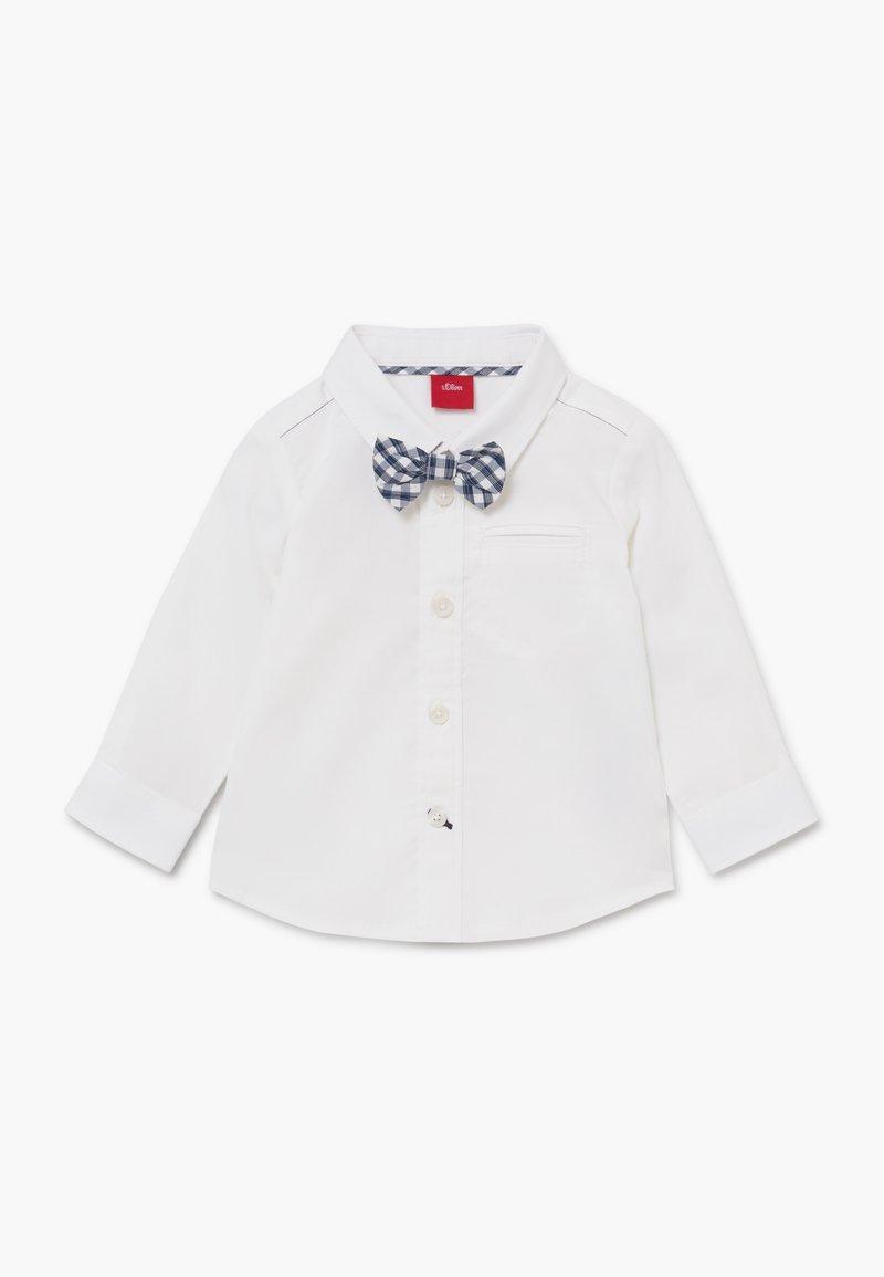 s.Oliver - LANGARM - Košile - white