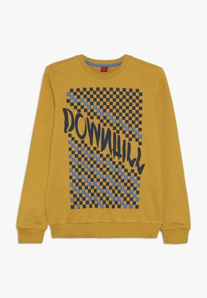 LANGARM - Sweatshirt - dark yellow