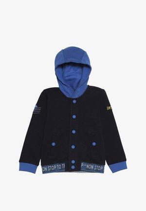 Hoodie met rits - dark blue