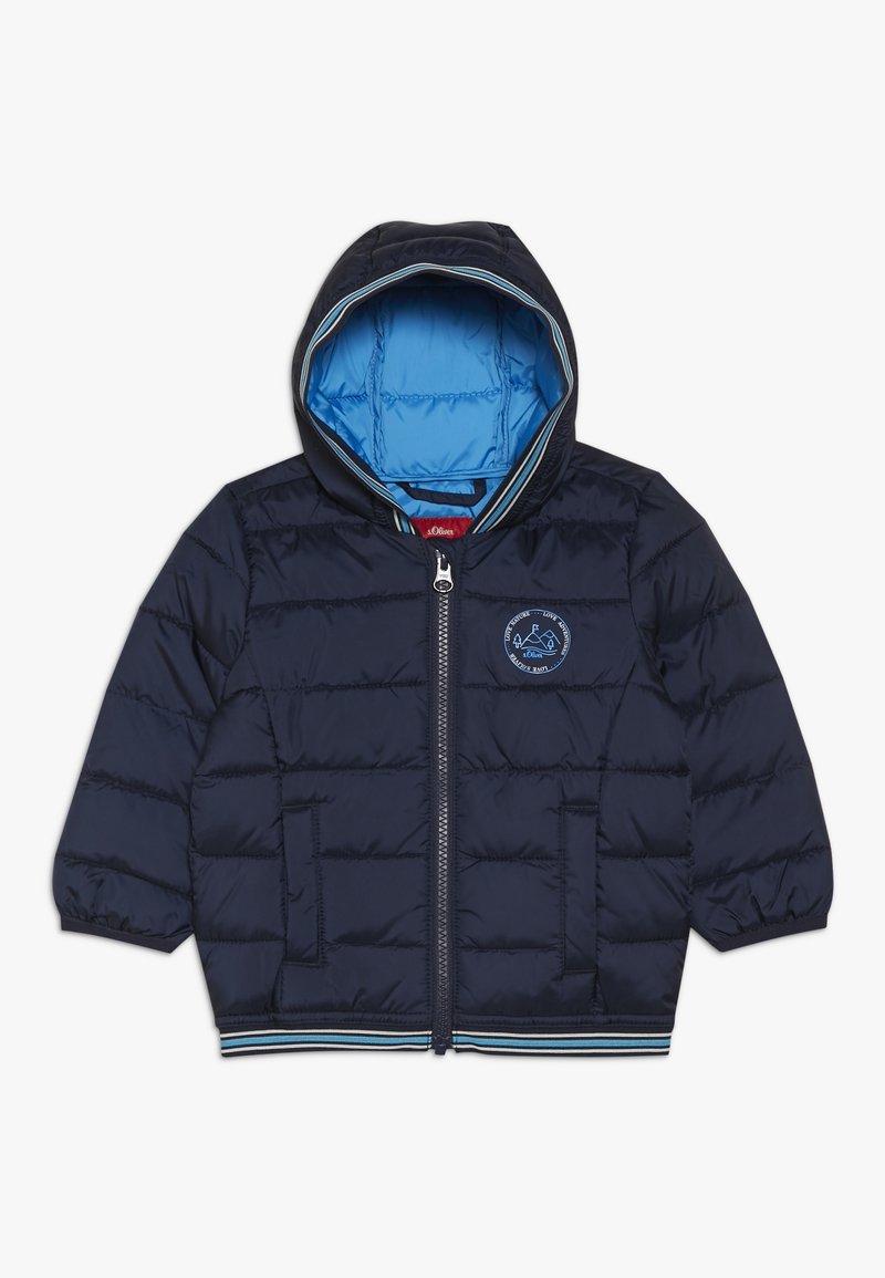 s.Oliver - Winter jacket - dark blue