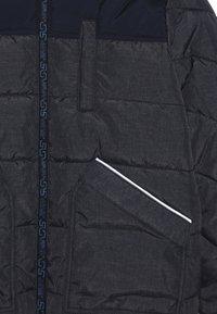s.Oliver - Winter jacket - dark blue melange - 3