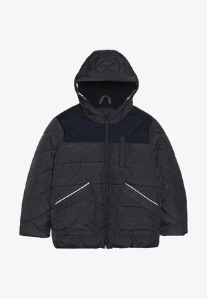 Winter jacket - dark blue melange