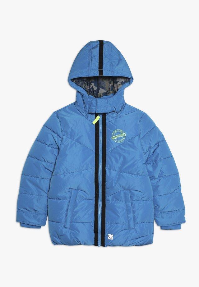 Winterjas - turquoise