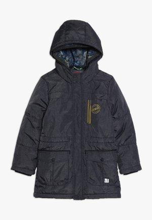 MANTEL - Zimní kabát - dark blue melange