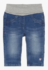 s.Oliver - Relaxed fit jeans - blue denim - 0
