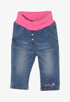 Straight leg jeans - medium blue