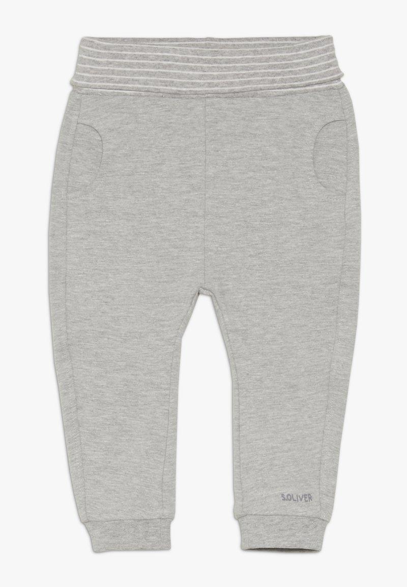 s.Oliver - Trousers - grey melange