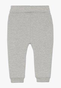 s.Oliver - Trousers - grey melange - 1