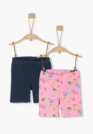 2ER-PACK  - Shorts - navy/pink aop