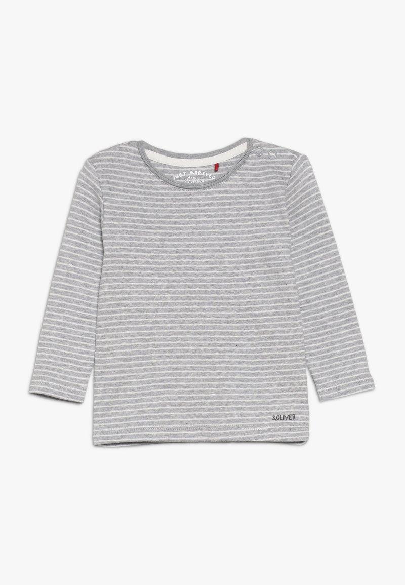 s.Oliver - JA 1/1 ARM - Long sleeved top - grey