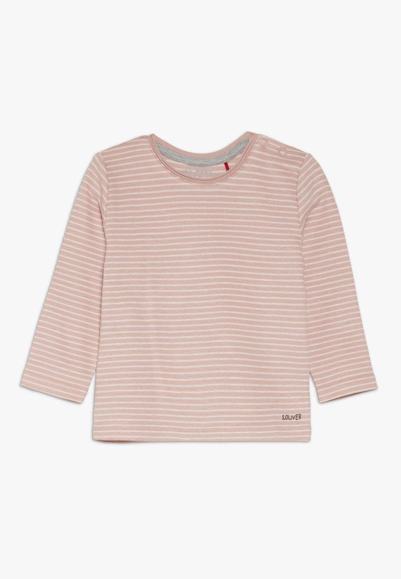s.Oliver - JA 1/1 ARM - Long sleeved top - light pink