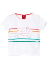 s.Oliver - T-Shirt print - white - 0