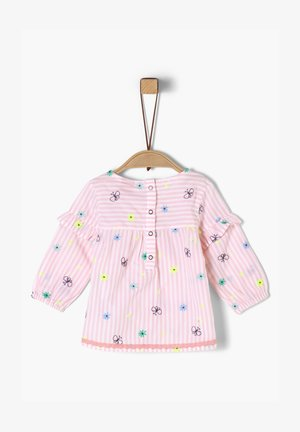 Blouse - light pink aop